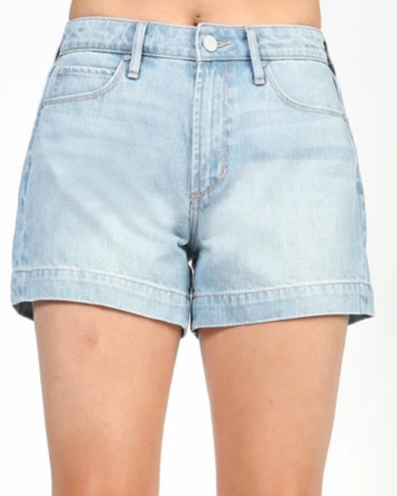 A.O.S. - Ziggy Hi Rise Shorts in Marsh