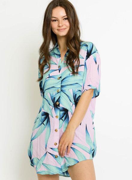 Piper Paradise Shirt Dress