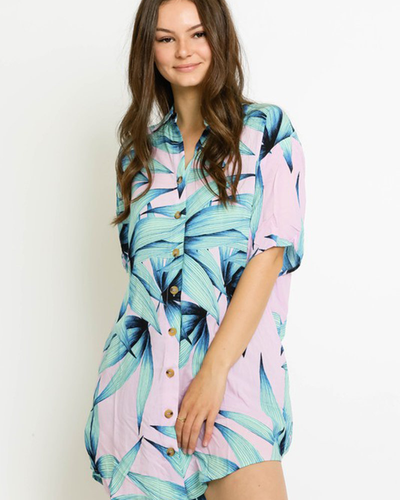 Piper Paradise Shirt Dress