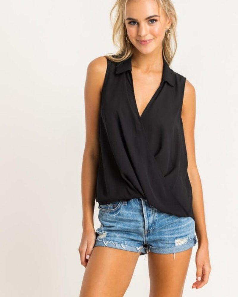 Novah S/L Collared Blouse