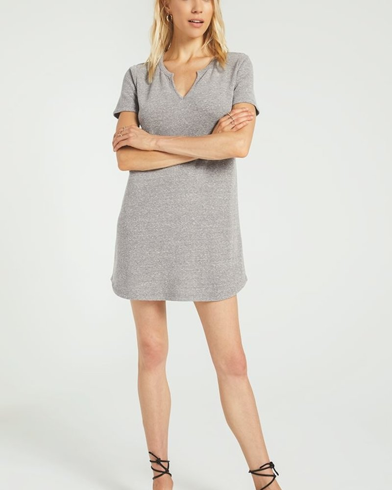 Z Supply - The Split Neck Triblend Dress