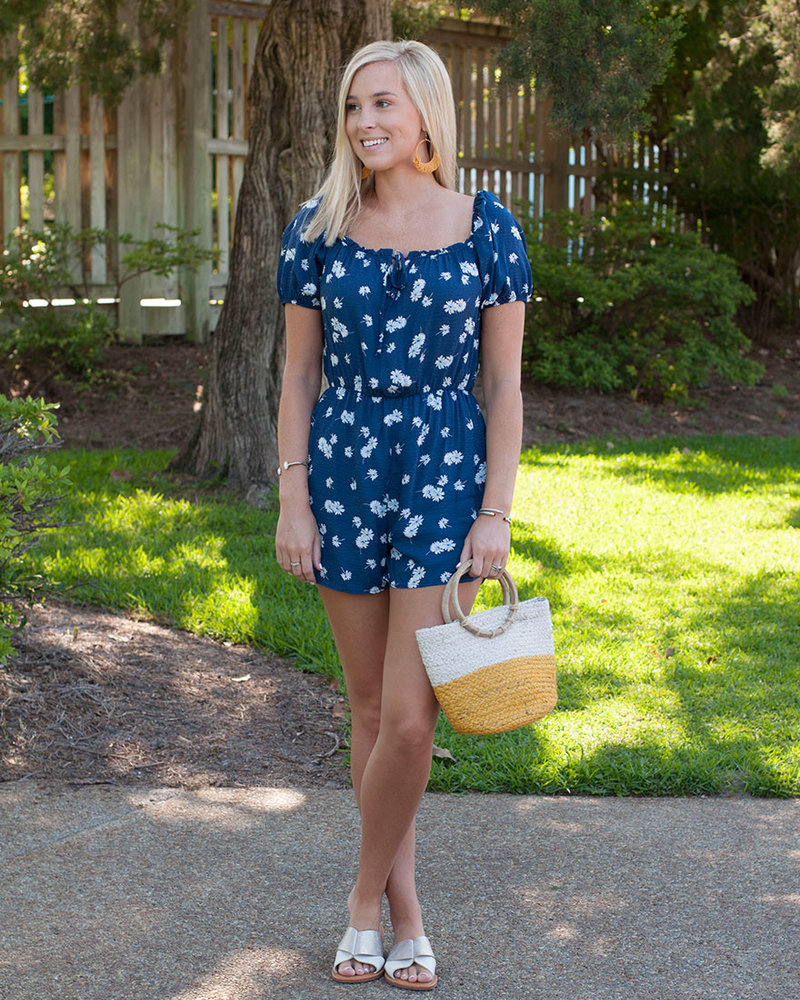 Blossom On Over Romper