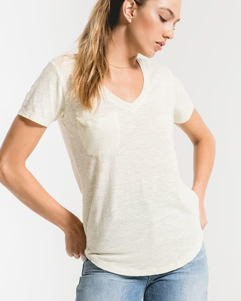 Z Supply - The Airy Slub Pocket Tee