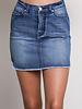 Kate Frayed Hem Denim Skirt