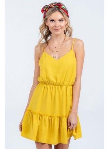 Golden Hour Mini Dress