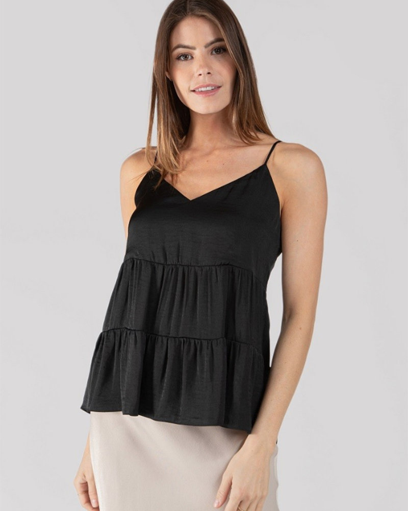Flared Tiered Cami