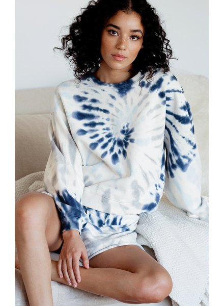 Z Supply - The Multi Color Tie-Dye Pull Over