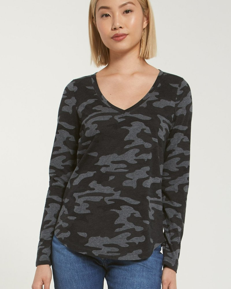 Z Supply - Kinney Camo L/S Tee