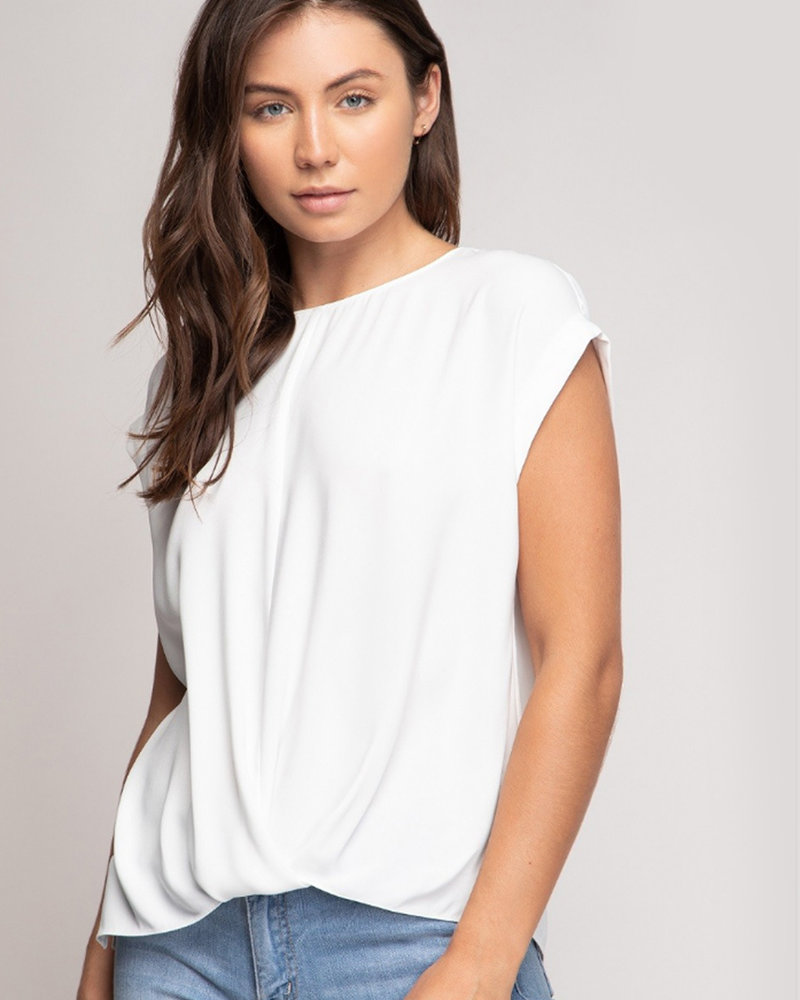 Twisted Front Top