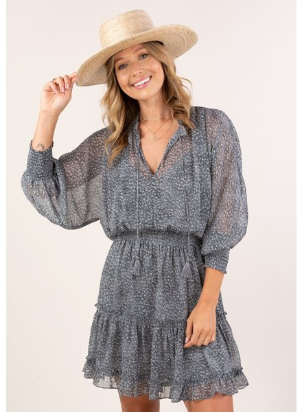 Daytripper Printed Dolman Dress