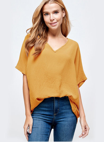 Georgia S/S VNeck Top