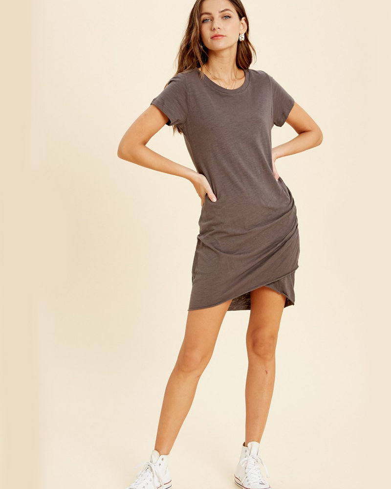Madison Ruched Mini Dress