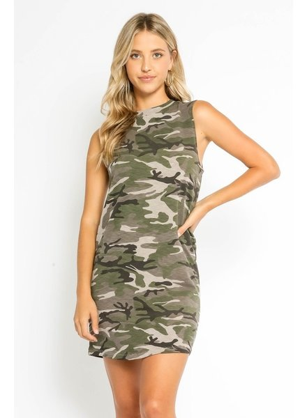 Jordyn Camo Tank Dress