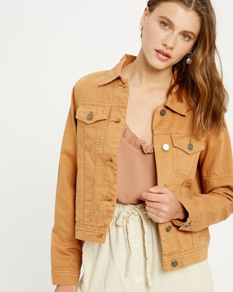 Stacey Color Jean Jacket