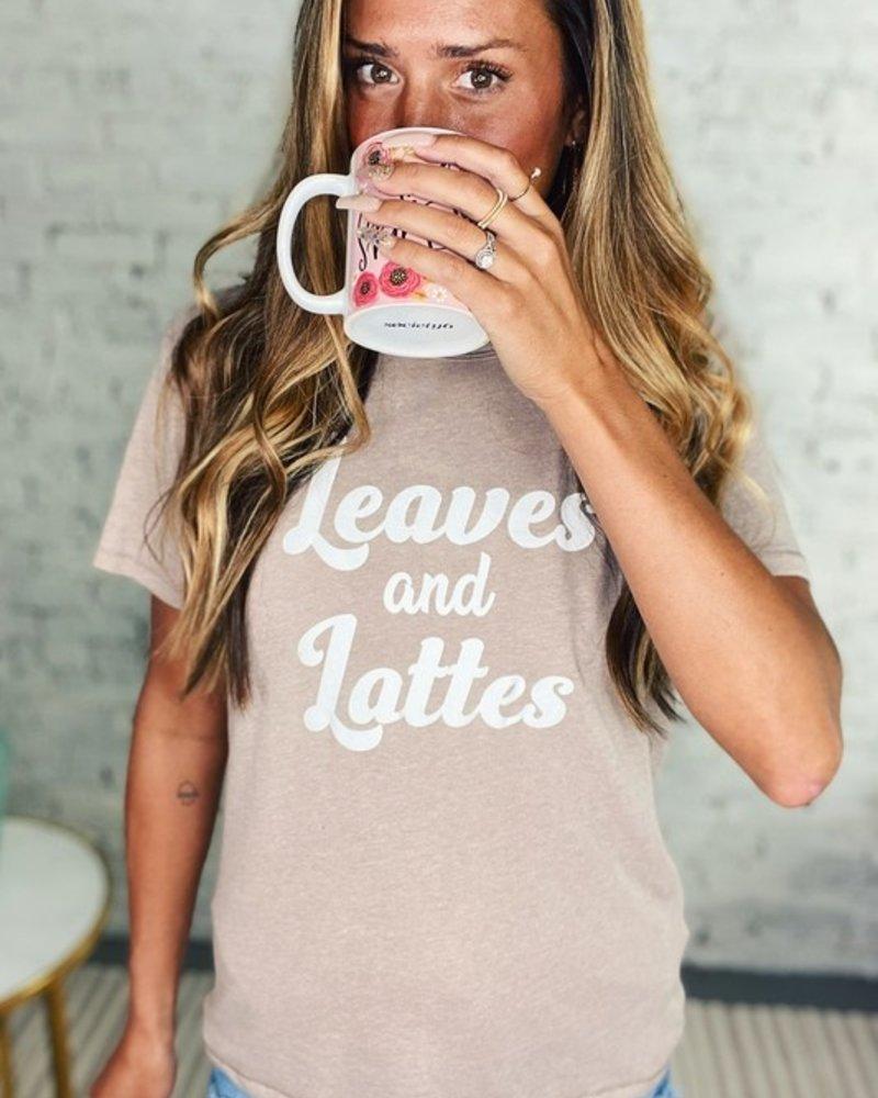 Leaves & Lattes Tee