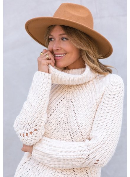 Apres Chunky Knit Turtleneck Sweater