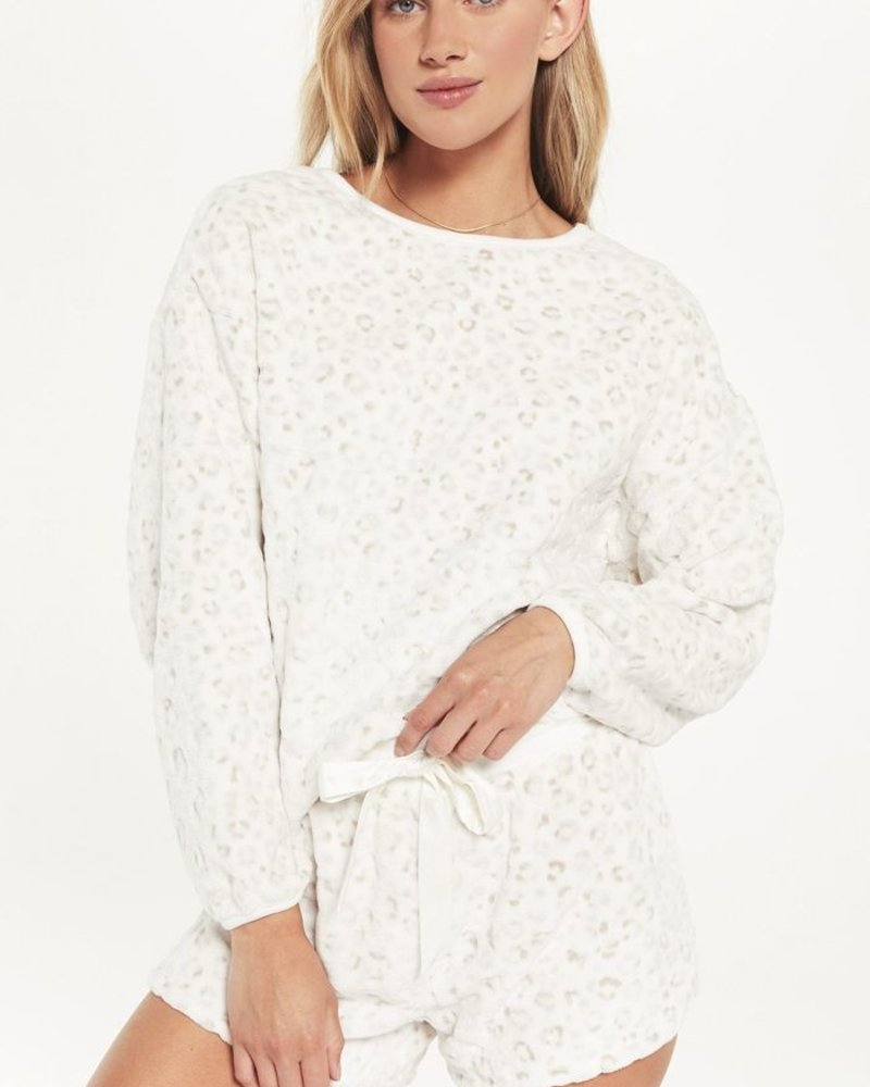 Z Supply - Frosted Plush Leo Top