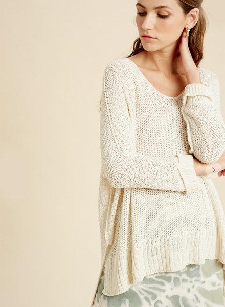 Bethany 3/4Slv Sweater