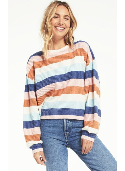 Z Supply - Mercer Stripe Thermal Top