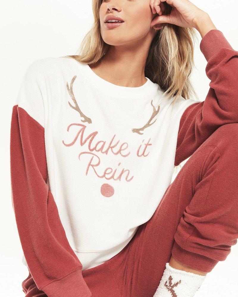 Z Supply - Elle Make it Rein Sweatshirt