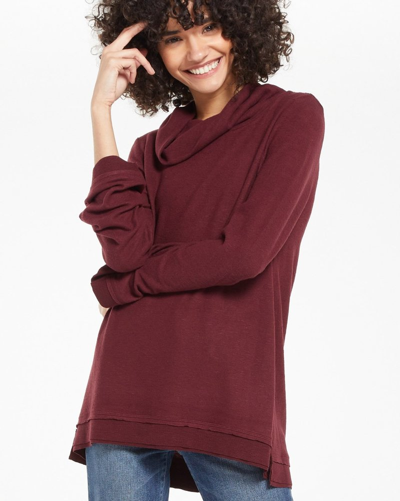 Z Supply - Ali Cowl Slub Sweater
