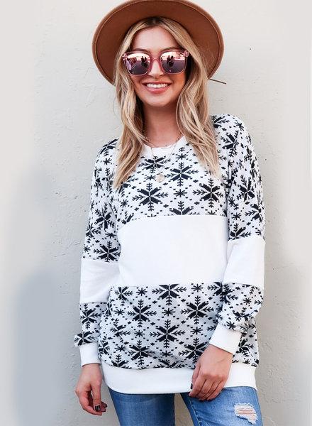 Grace Snowflake Sweatshirt