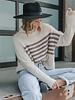 Snuggle Striped Sweater