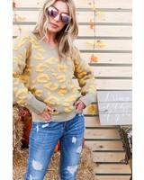 Bethel Textured Leopard Sweater