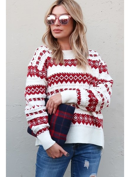 Christmas Nordic Sweater