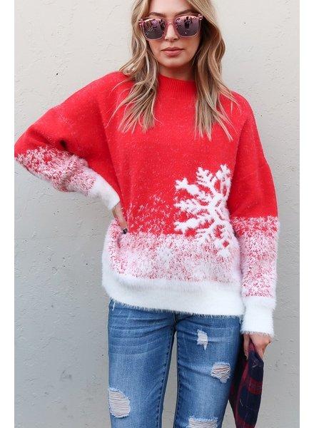 Snowflake Winter Sweater