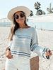 Sera Striped Knit Sweater