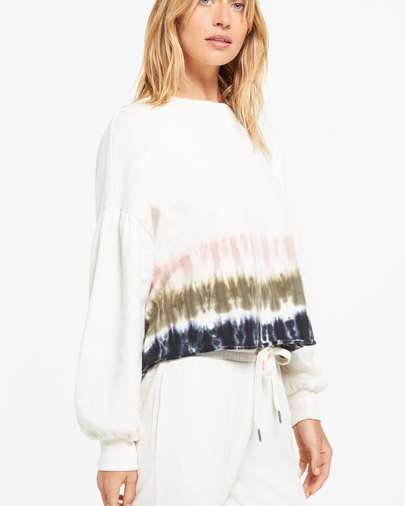 Z Supply - Tempest Stripe Tie-Dye Pullover