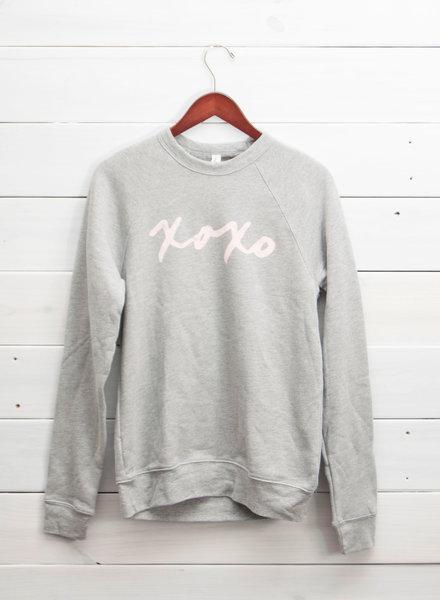 XOXO Fleece Pullover