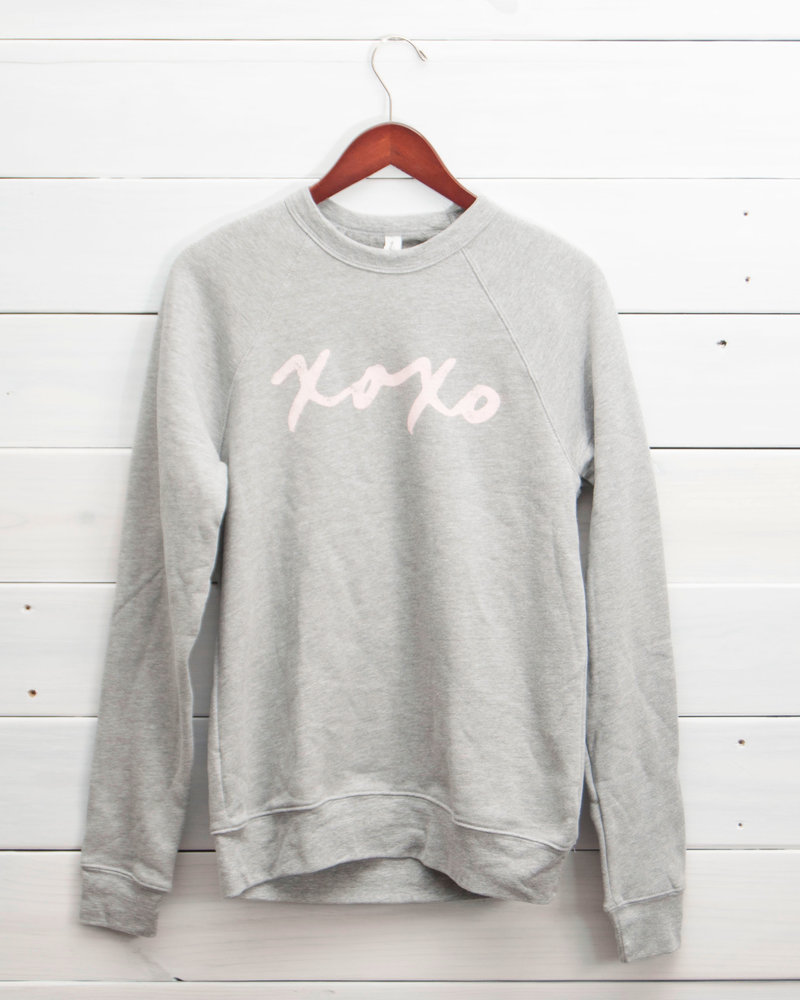 XOXO Fleece Pullover