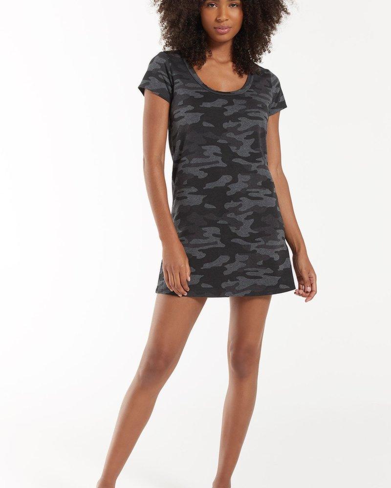 Z Supply - Payton Camo Tee Dress