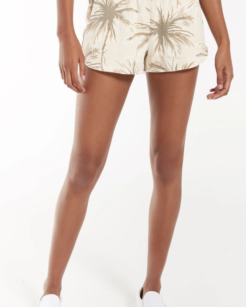 Z Supply - Coconut Palm Pindo Short