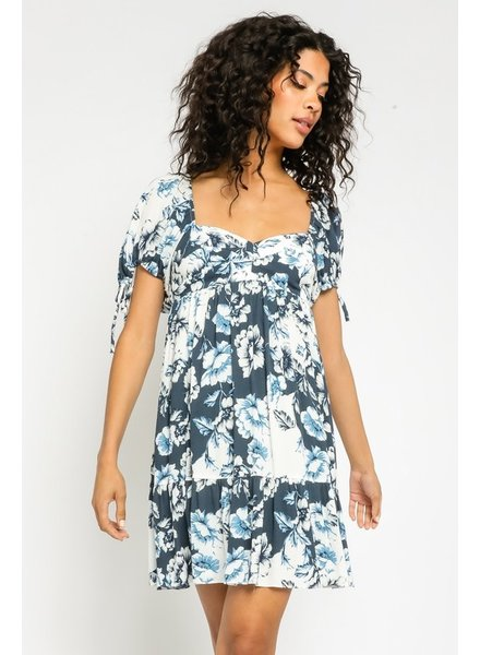 Laila Floral Sweetheart Dress