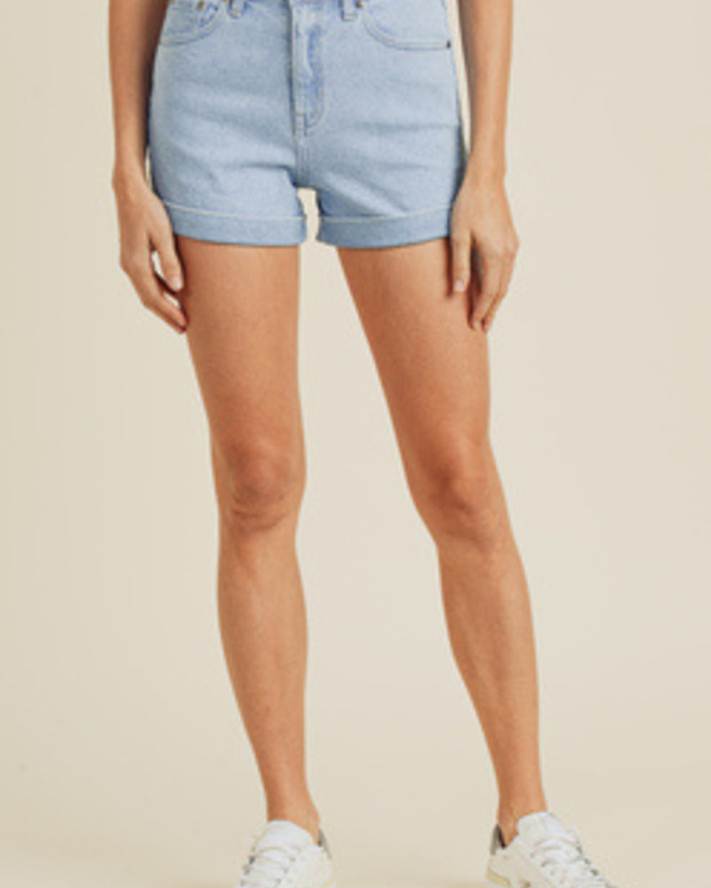 JBD - High Rise Cuffed Hem Short