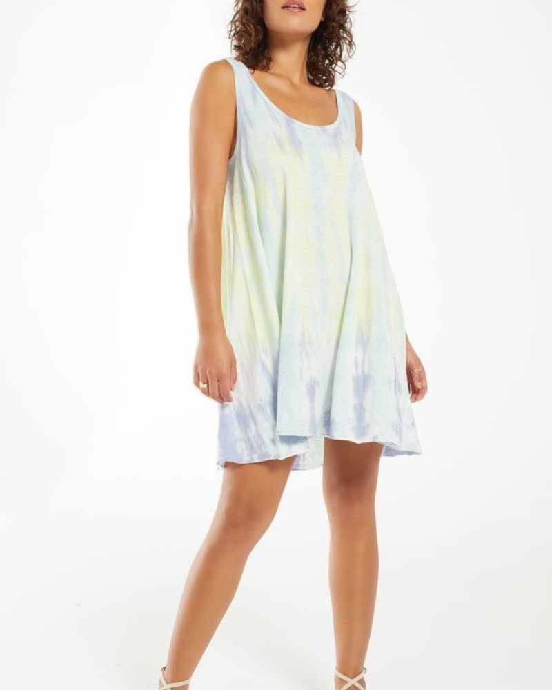 Z Supply - Eva Sorbet Skies Tie-Dye Dress