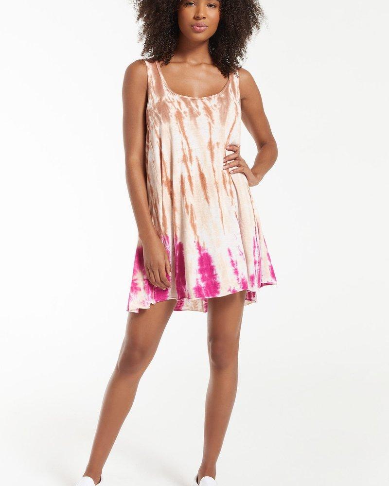 Z Supply - Eva Sorbet Skies Tie-Dye Dress