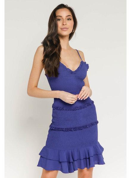 Ivanna Smocked Tank Dress