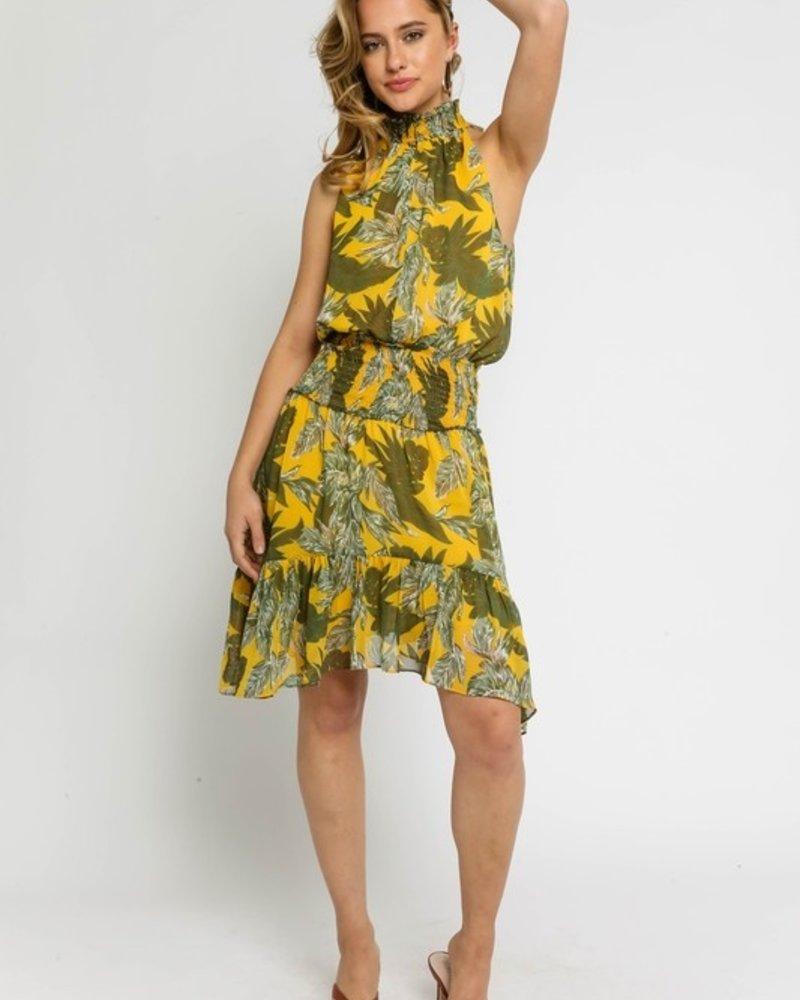 Ryan Tripical Midi Dress