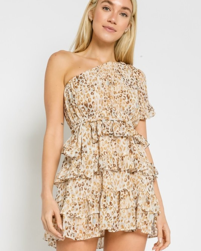 Patricia Leopard 1Sh Dress
