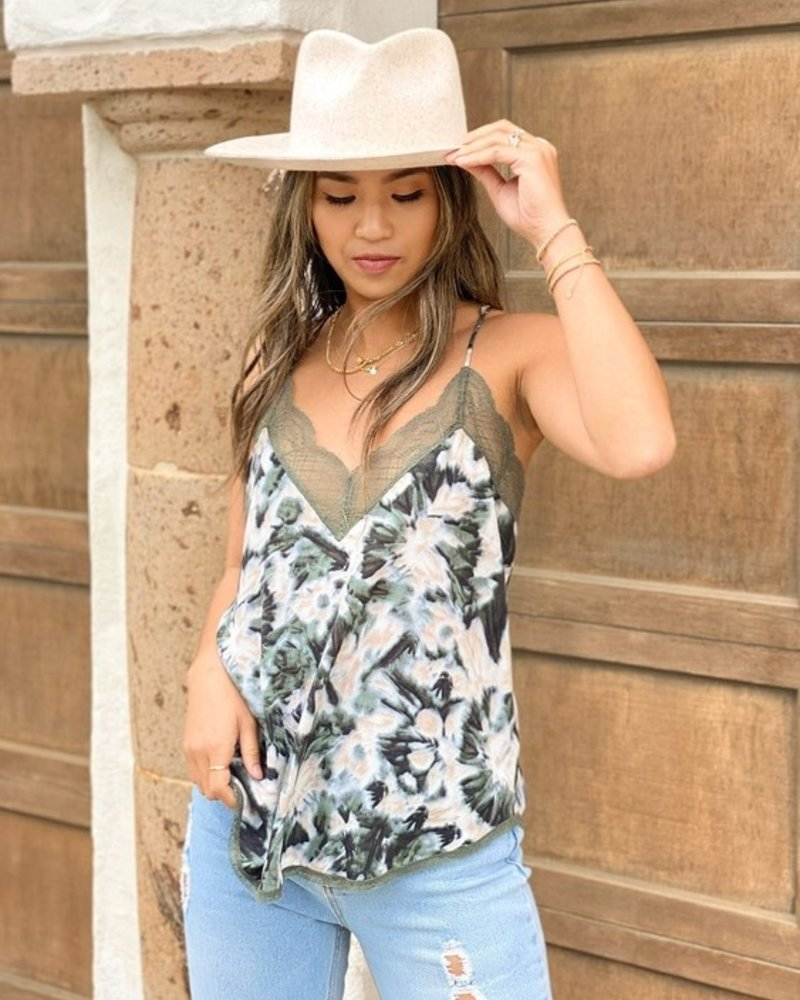 Lost in Space Tie-Dye Cami