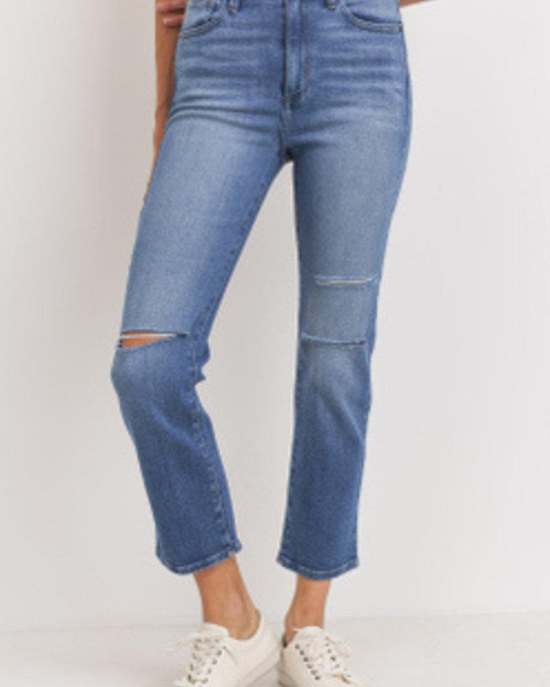 JBD - H/W Straight Leg w/ Knee Slits