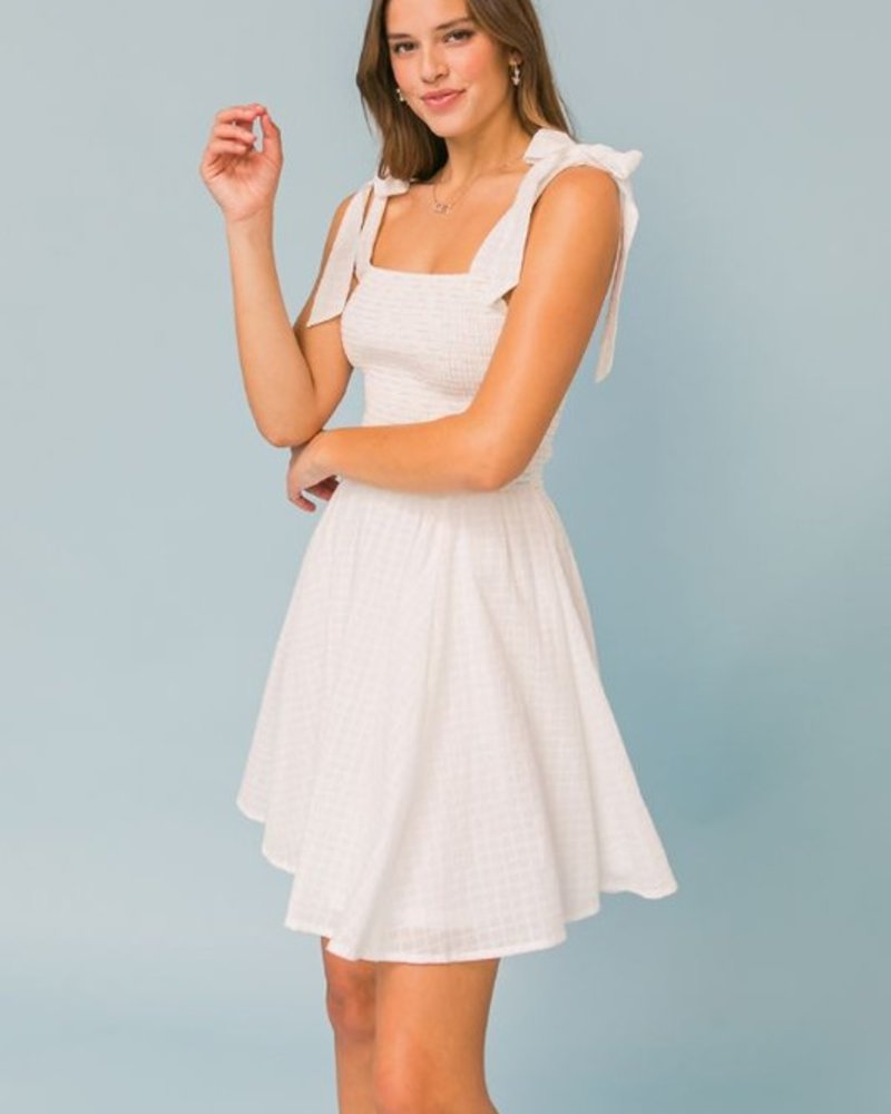 Stella Smocked Bodice Dress