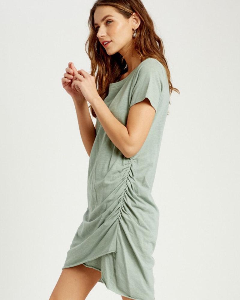 Madison Ruched Mini Dress