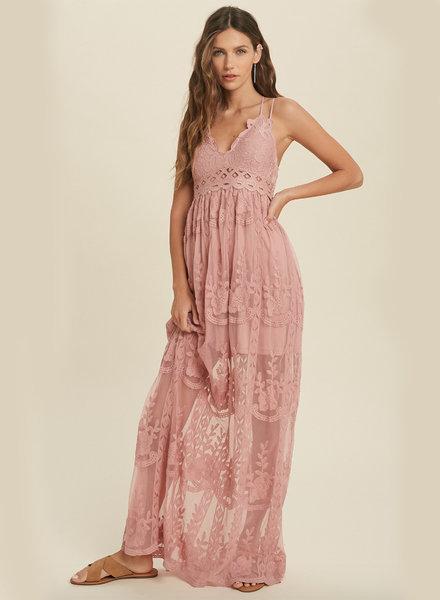 Alexa Lace Maxi Dress