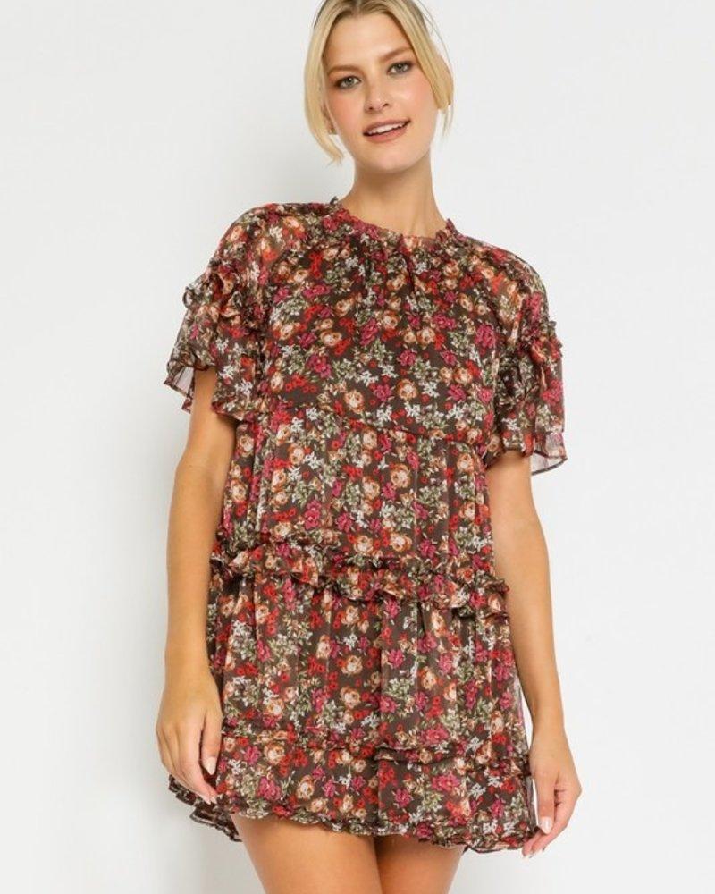 Asher Garden Babydoll Dress