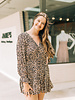 Adalee Leopard VNeck Dress